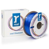 Real PETG 1.75mm / 1kg Translucent Blue
