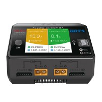 Hota D6 Pro battery charger