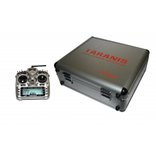 FrSky Taranis X9D Plus zender + Aluminium koffer