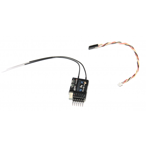 FrSky X4R SBus receiver with telemetry