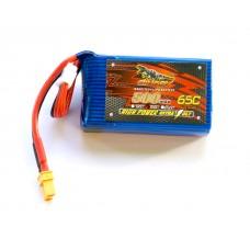 Dinogy Nano-Tech 500mAh 3S 65C XT30