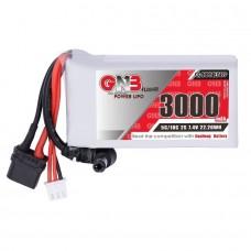 GNB 3000mAh 2S 5C voor FPV Goggles