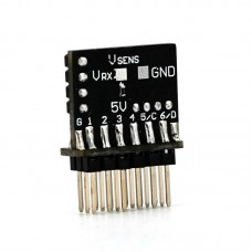 TBS Crossfire Nano RX 6ch PWM adapter